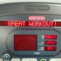 Photo taken at LA Fitness by Terésa D. on 3/30/2012
