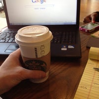 Photo taken at Starbucks by Jason R. on 5/1/2012