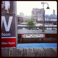 Photo taken at CTA - Wilson by s F. on 5/30/2012