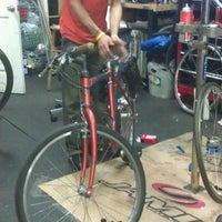 Photo taken at Echelon Cycles by B. Andrea D. on 3/19/2012