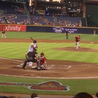 Photo taken at The Braves Chop House by Carter N. on 6/28/2012