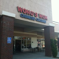 Photo taken at Wong's Wok Chinese Cuisine by Hannah A. on 7/15/2012