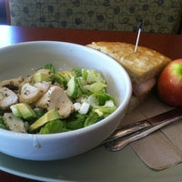 Photo taken at Panera Bread by Stephanie K. on 5/31/2012