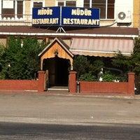 Photo taken at Müdür Restaurant by Cem A. on 7/5/2012