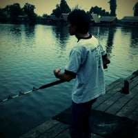 Photo taken at Bung Sam Ran Fishing Park by Por G. on 4/23/2012