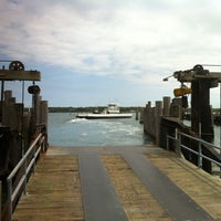 Photo taken at Shelter Island North Ferry - Greenport Terminal by Juston P. on 5/6/2012