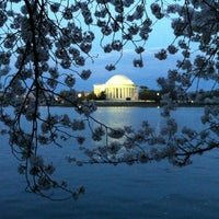 Photo taken at Tidal Basin by Anna M. on 3/19/2012