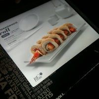 Photo taken at Sushi Roll by América V. on 5/15/2012