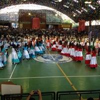 Photo taken at Colégio Santa Maria by Flavia N. on 6/16/2012