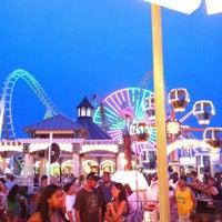 Photo taken at Morey's Piers and Beachfront Waterparks by Liz L. on 7/27/2012
