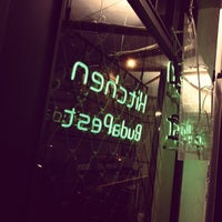 Photo taken at Kitchen Budapest by gergocsikos on 11/25/2012