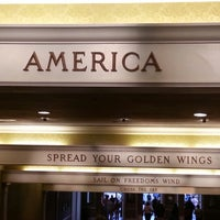 Photo taken at The American Adventure by Kristin T. on 1/6/2013