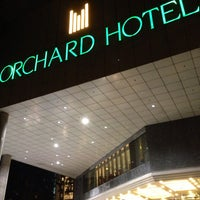 Photo taken at Orchard Hotel by KT L. on 8/4/2013