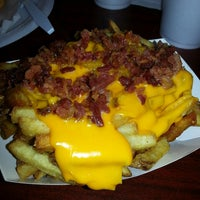 Photo taken at J.R.'s Fresh Cut French Fries by Lauren J. on 3/23/2013
