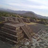 Photo taken at Zona Arqueológica de Teotihuacán by ANGÉLICA BRACHO @. on 12/5/2012