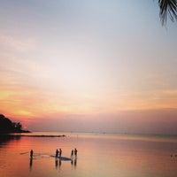 Photo taken at Salad Beach Resort by Sage B. on 2/19/2013
