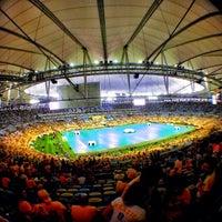 Photo taken at Mário Filho (Maracanã) Stadium by Rommel A. on 6/30/2013
