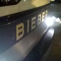 Photo taken at Bieber Bus Terminal by Shane O. on 2/8/2014
