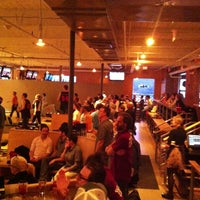 Photo taken at Bayside Bowl by Jason K. on 3/14/2013