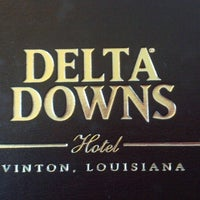 Photo taken at Delta Downs Racetrack, Casino & Hotel by Cindy W. on 12/20/2012