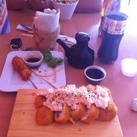 Photo taken at Sushi Tai by Jorge E. on 4/25/2013