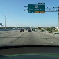 Photo taken at Interstate 95 by Will L. on 10/31/2012