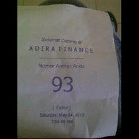 Photo taken at ADIRA FINANCE by adevannia on 5/4/2013