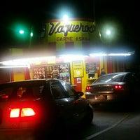 Photo taken at Vaqueros Carne Asada Taco Shop by Chow B. on 9/24/2015
