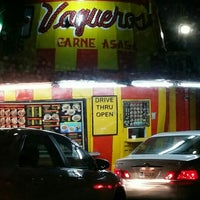 Photo taken at Vaqueros Carne Asada Taco Shop by Chow B. on 1/4/2016