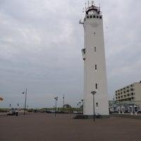 Photo taken at Strand Noordwijk aan Zee by Bert P. on 8/20/2013