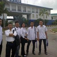 Photo taken at Sekolah Tinggi Ilmu Pelayaran (STIP) Marunda by Agung D. on 10/30/2012