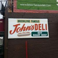 Photo taken at The Original John's Deli by Nick W. on 1/30/2013