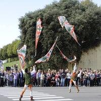 Photo taken at Piazza Santa Maria by Gabriele M. on 10/6/2013