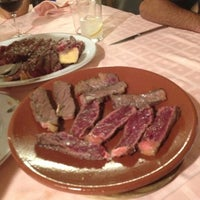 Photo taken at Asador Donostiarra by María Virginia R. on 12/1/2012