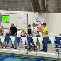 Photo taken at McCoy Natatorium by Marsha B. on 2/23/2013