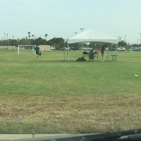 Photo taken at Soccer Fields by Paul H. on 4/30/2014