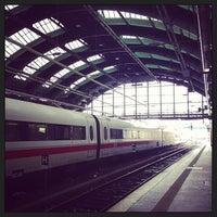 Photo taken at Berlin Ostbahnhof by Dennis S. on 2/21/2013