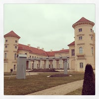Photo taken at Schloss Rheinsberg by Dennis S. on 3/9/2013