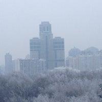 Photo taken at Пруд Запятая by Кристина Т. on 1/20/2013