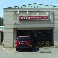 Photo taken at Layla's Gyros and Pizzeria by Tamara E. on 8/28/2013
