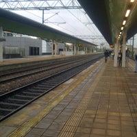 Photo taken at Stazione Caronno Pertusella by Ivan S. on 10/15/2012