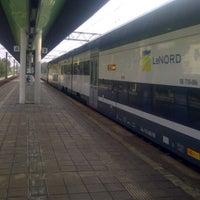 Photo taken at Stazione Caronno Pertusella by Ivan S. on 10/19/2012