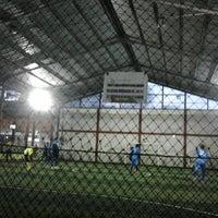 Photo taken at KutaMandiri Futsal by Aliza F. on 11/14/2012