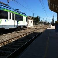 Photo taken at Estación Metrotren San Fernando by Luis R. on 12/5/2012