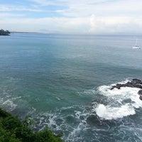 Photo taken at Pantai Senggigi by Arielle A. on 5/24/2013