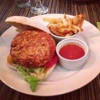 Photo taken at Ring Café & Burger Bar by Virág V. on 7/28/2013