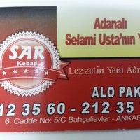 Photo taken at Sar Kebap by Gürcan T. on 3/8/2013