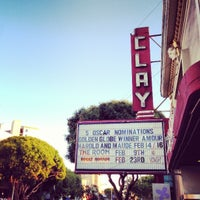 Photo taken at Clay Theatre by Gus D. on 2/11/2013
