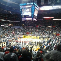 Photo taken at Philips Arena by Erwin P. on 4/30/2013