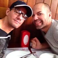 Photo taken at Lanchonete e Restaurante Dona Inês by Evandro K. on 6/14/2014